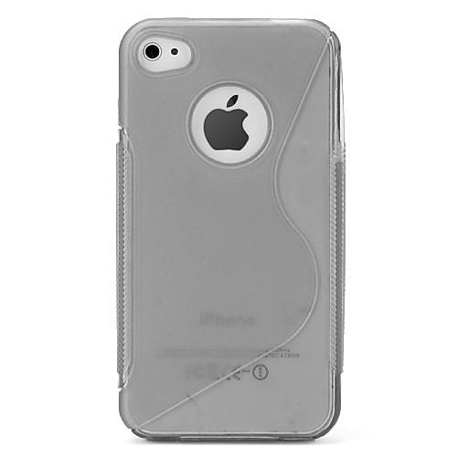 Однотонный защитный чехол для iPhone 4 и 4S  128.000