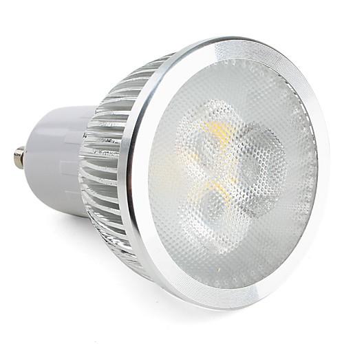 310lm GU10 Точечное LED освещение MR16 3 Светодиодные бусины Высокомощный LED Диммируемая Тёплый белый 220-240V