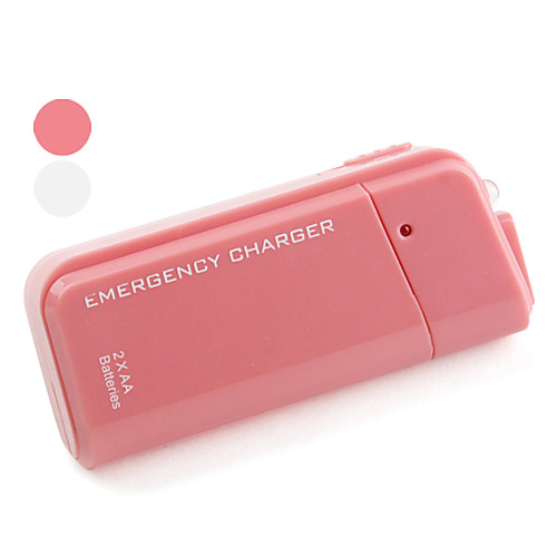 носимого аварийного зарядное внешняя батарея с 2 батареи AA для IPhone и IPod  161.000