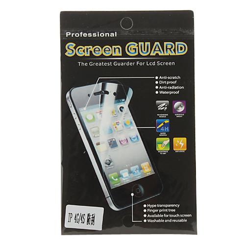 Сверх-прозрачная защитная пленка  ветошь для iPhone 4 и 4S  43.000
