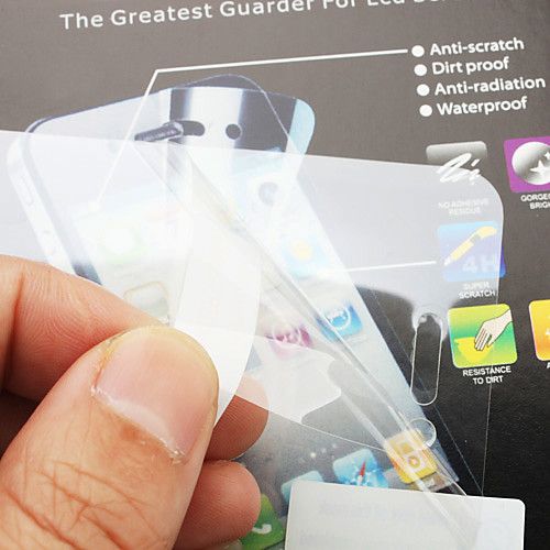 Защитная пленка  ветошь для iPhone 4 и 4S  42.000