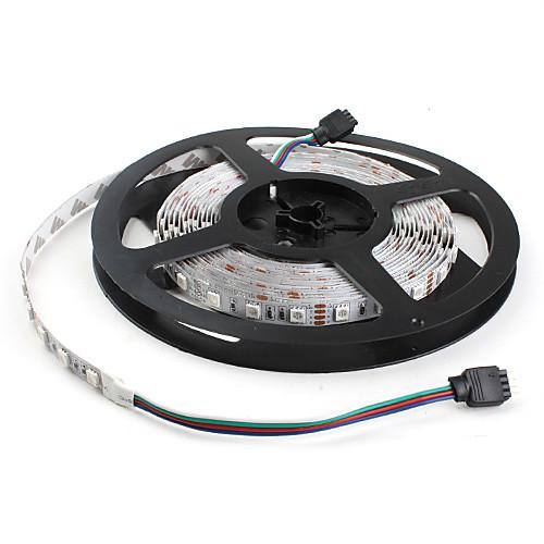 RGB ленты Гибкие светодиодные ленты 300 светодиоды RGB Меняет цвета DC 12 В DC 12V