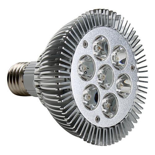 7W E26/E27 Точечное LED освещение PAR30 7 Высокомощный LED 680 lm Тёплый белый AC 220-240 V