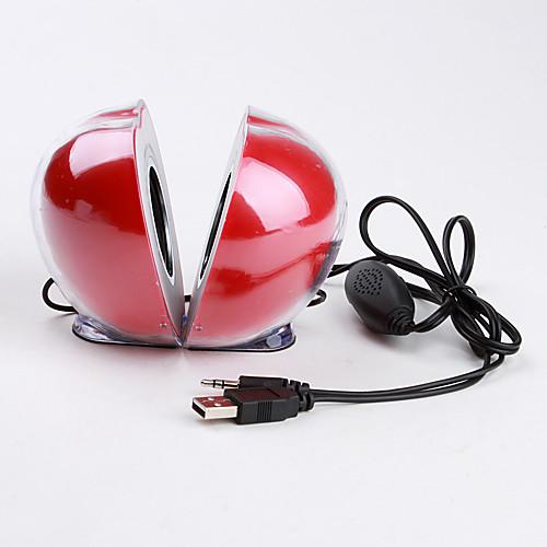 яблоко форме мини-USB колонки (красный)  943.000