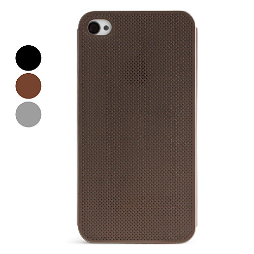 ультра тонкий металлический чистый стиль задняя крышка для iphone 4 и 4S (разных цветов)  343.000