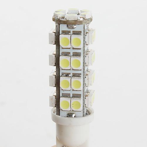 Автомобильная LED лампа (DC 12V), белый свет, T10 3528 SMD 38-LED  76.000