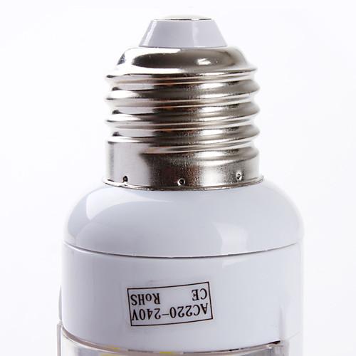 e27 102-Светодиодный 5-5.5W 250-300lm естественный белый свет лампы привело кукурузы (220-240V)  300.000