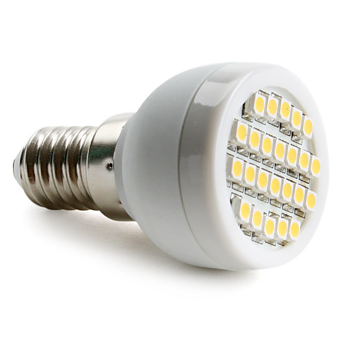 1,5 Вт 2700 lm E14 G9 E26/E27 Точечное LED освещение 24 светодиоды SMD 3528 Тёплый белый Естественный белый AC 220-240V цена