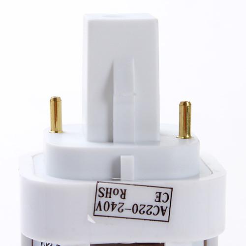 G24 4W 84 SMD 3528 300 LM Тёплый белый / Естественный белый T LED лампы типа Корн AC 220-240 V от MiniInTheBox.com INT