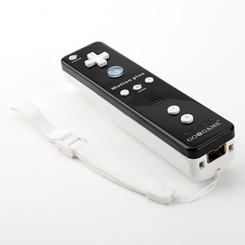 Двухцветный MotionPlus отдаленных и Nunchuk контроллер для Wii / Wii U (белый и черный)  1073.000