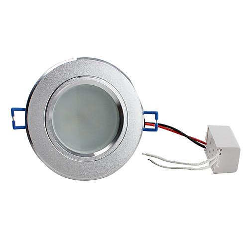 5w 8x5730 SMD 400LM 2800-3500K теплый белый свет лампы светодиодные потолочные (220)