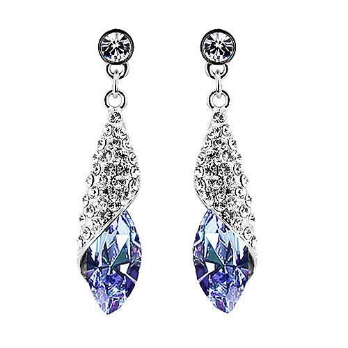 Элегантные серьги со сверкающими кристаллами  154.000