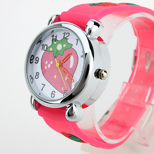 Детские кварцевые аналоговые часы со светодиодной подсветкой