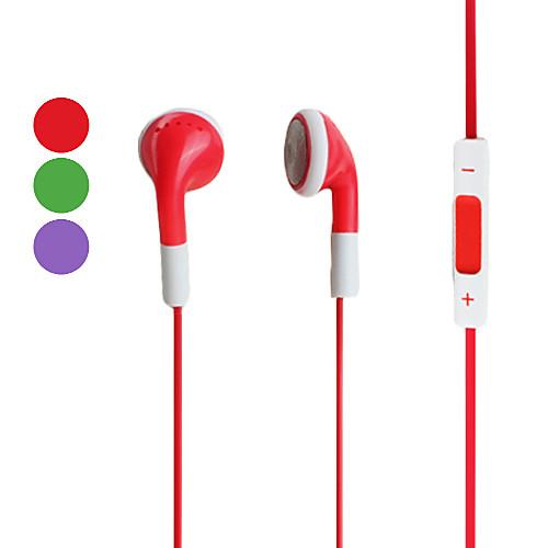 Наушники с регуляцией громкости для iPhone, iPod и iPad (разные цвета)  257.000