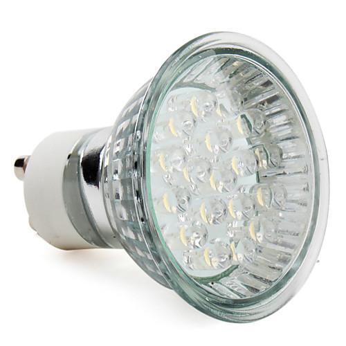1,5 Вт 60-80 lm GU10 Точечное LED освещение MR16 18 светодиоды Высокомощный LED Тёплый белый AC 220-240V
