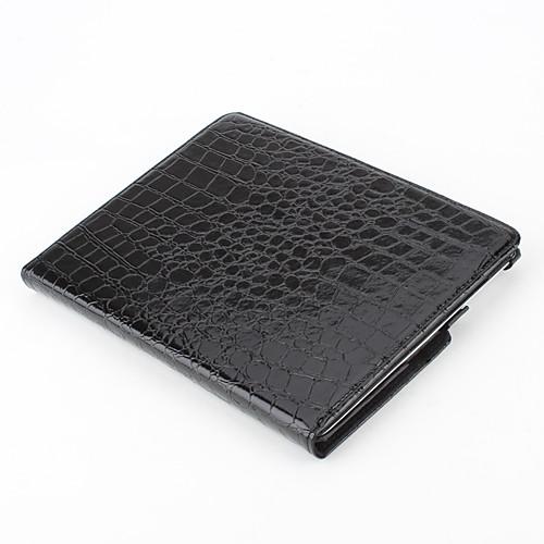 Чехол-подставка для iPad 2/3/4 из кожзама