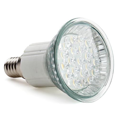 E14 21-LED 1W 105lm 2800-3500K теплый белый свет привели пятно лампы (220-240V)  171.000
