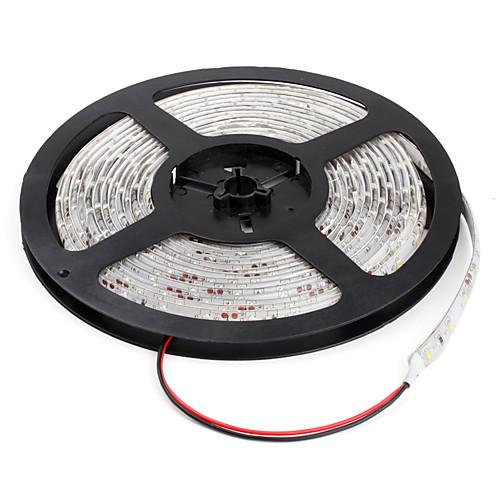ZDM 5 метров Гибкие светодиодные ленты 300 светодиоды Холодный белый Можно резать Водонепроницаемый Самоклеющиеся Подсветка для авто