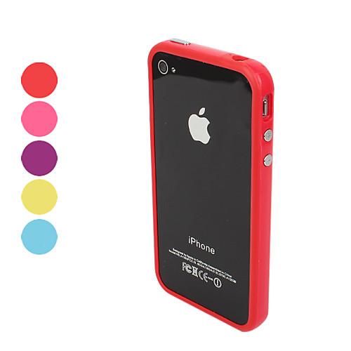 Кейс для Назначение iPhone 4/4S Apple Бампер Мягкий ТПУ для iPhone 4s/4 бампер hengyang accessories ix25 4s