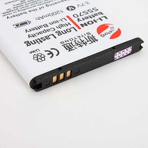 1200mah длительное батареи для Samsung Galaxy i559 c6712 мини s5330 s5578 s5750e S7350 s7230e  300.000