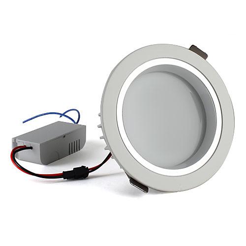12W 3000K 1080lm теплый белый светодиодные потолочные лампы (85-265В)