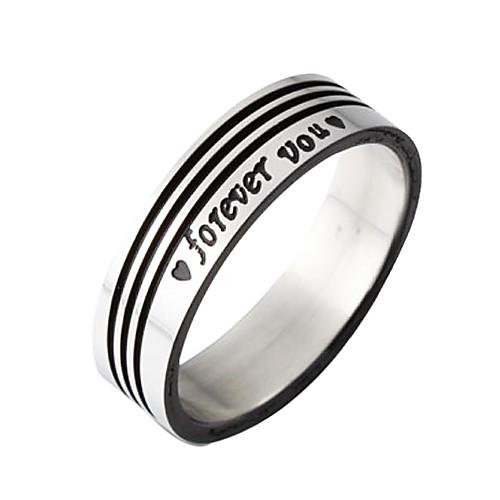 титановые стали черными полосами кольцо  128.000