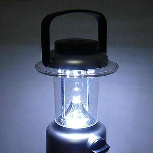 Портативный туристический фонарь с 15 LED элементами и компасом