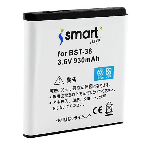 ismart 930mah батарея для Sony Ericsson X10 Mini Pro, sk17i, C905, c905c, C905a  300.000