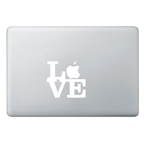 Любовь Apple Mac деколь крышки наклейка кожи на 11