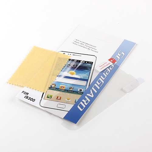 Защитная пленка для Samsung Galaxy S3 I9300 (прозрачная)  42.000