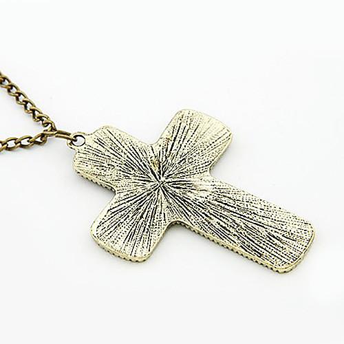Модное ожерелье с подвеской в виде креста  128.000