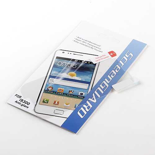 Противобликовая защитная пленка для Samsung Galaxy S3 I9300 (прозрачная)  42.000