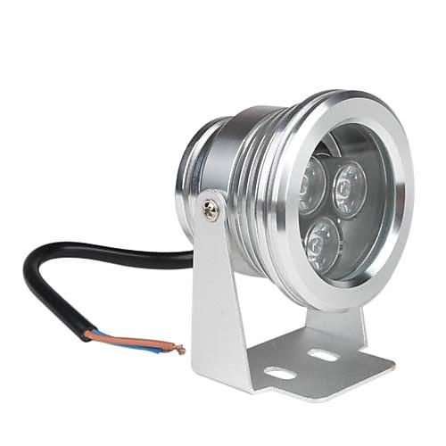 водонепроницаемый 3W 300lm 6000-6500K естественный белый свет привел трек лампы (12)