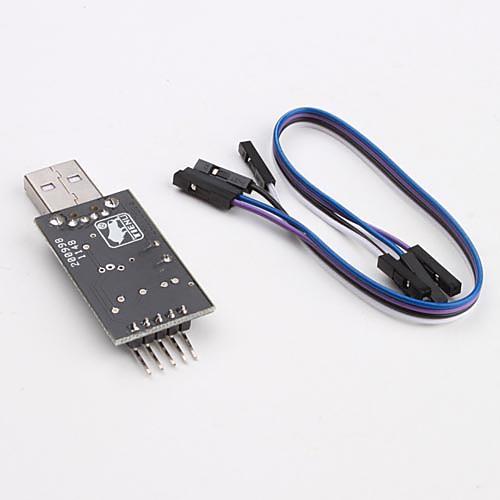 PL2303 USB в RS232 TTL модуль преобразователя адаптер  171.000