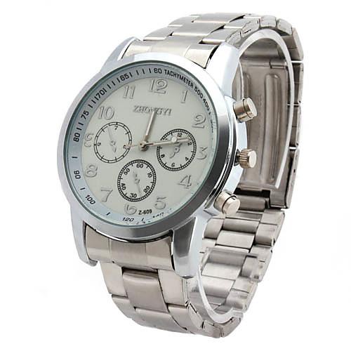 Мужские кварцевые деловые часы (разные цвета)  257.000