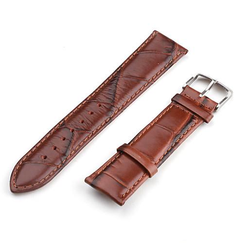 унисекс подлинный кожаный ремешок 22 мм (черный)  171.000