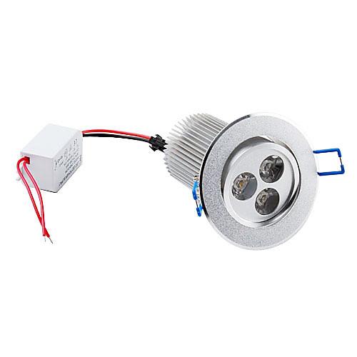 9w 810-900LM 3000-3500K теплый белый светодиодные потолочные лампы (85-265В)