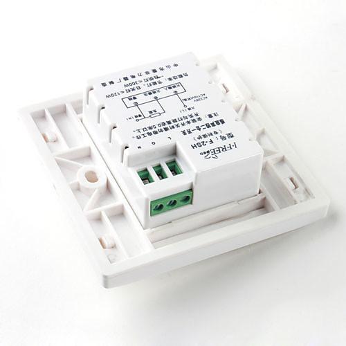 настенное крепление инфракрасный датчик движения и звуковая активация привело переключатель света (180-250V)  429.000