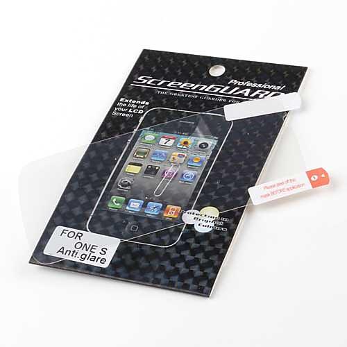 антибликовым ЖК-экран протектор для HTC один S (прозрачный)  85.000