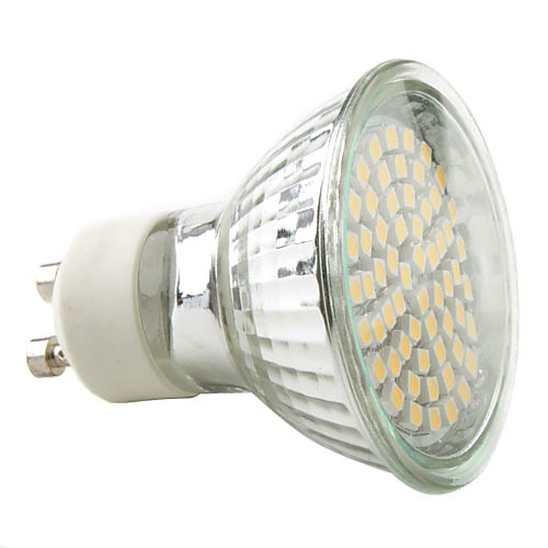 2800 lm GU10 Точечное LED освещение MR16 60 светодиоды SMD 3528 Тёплый белый Естественный белый AC 220-240V