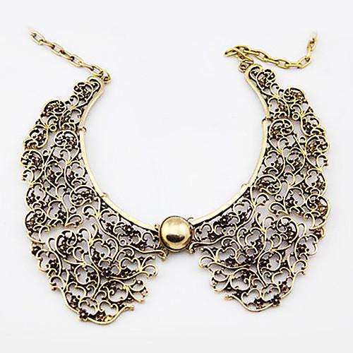 Металлическое ретро ожерелье-воротничок  171.000