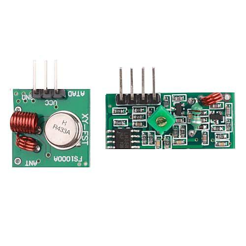 Модули передатчика и приемника для аварийной сигнализации 433M  85.000