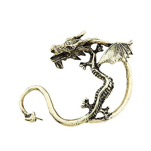 бронзовые и серьги сплава ретро дракон  89.000