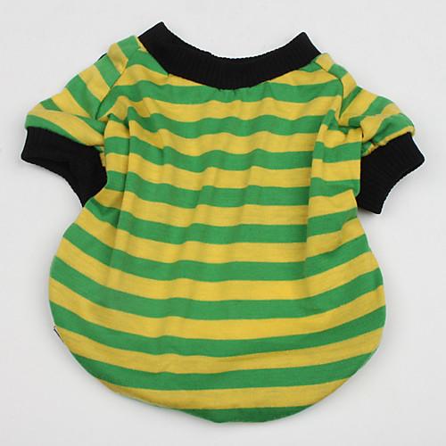 Британский стиль полоса футболки для собак (XS-XL, случайные цвета)  364.000