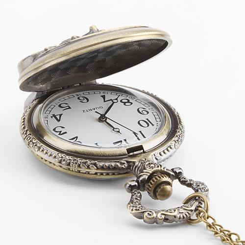 мужской велосипед сплава аналогового карман кварцевые часы (бронза)  214.000