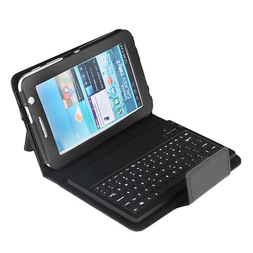 Чехол с клавиатурой Bluetooth 3.0 QWERTY для Samsung Galaxy Tab2 P3100  2105.000