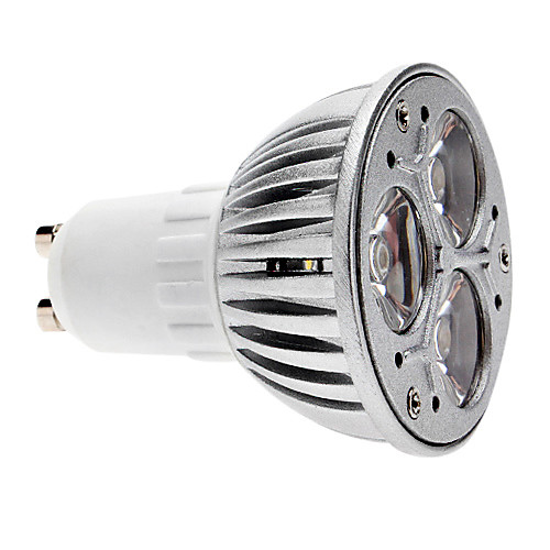 280lm GU10 Точечное LED освещение MR16 3 Светодиодные бусины COB Диммируемая Тёплый белый 220-240V