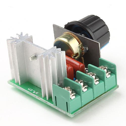 2000 Вт Регулируемый 90 ~ 220В стабилизатор напряжения для затемнения Light Control Скорость лампы (220)  257.000
