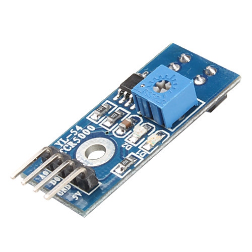 ИК инфракрасный датчик модуль коммутатора (Blue)