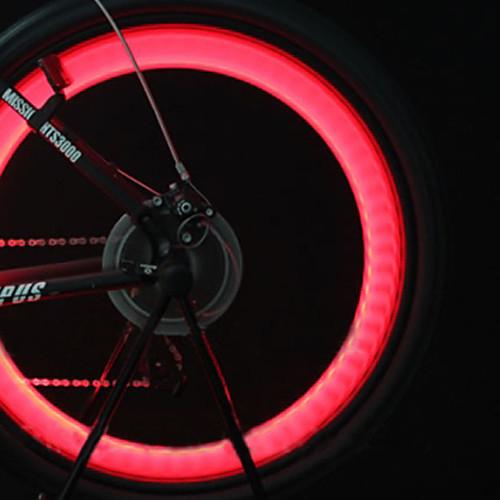 Клапан светодиодный мигающий для колес велосипеда (2xCR2016)  171.000